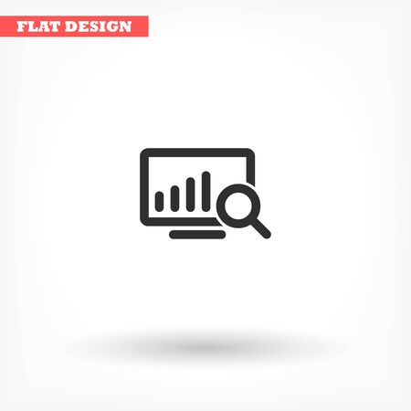 Vector icon design flat icon 10 eps Stock Illustratie