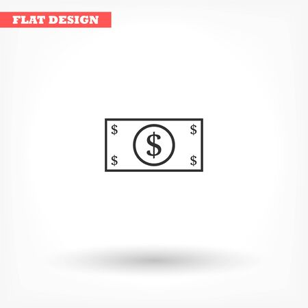 Vector icon design flat icon 10 eps Ilustracja