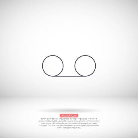 Vector icon design 10 eps Flat illustration