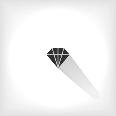 The best vector graphics in this style with shadow. This icon is suitable for your work.