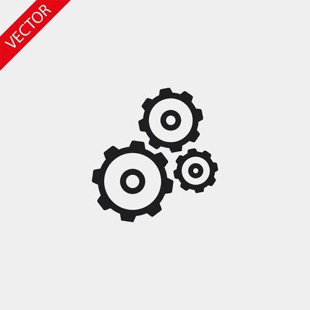 Red text vector icon 10 eps design illustration Vecteurs