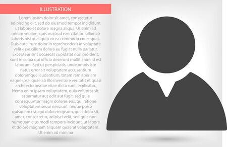 Vector icon 10 eps flat design illustration Illusztráció