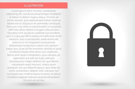Vector icon 10 eps flat design illustration Ilustração