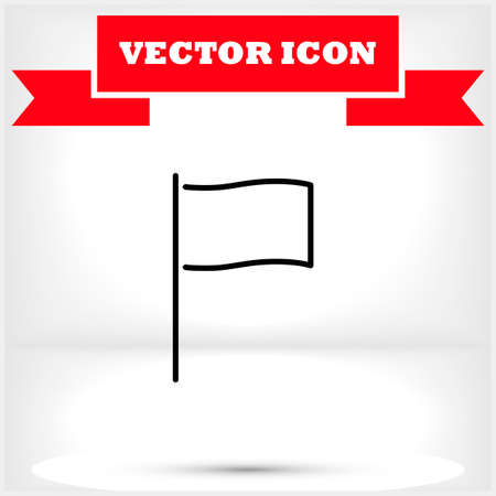 Vector icon 10 eps flat design