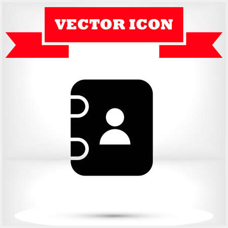 Illustration of gift box vector icon o background. Christmas gift vector icon illustration vector icon symbol.