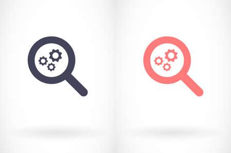Vector icon, design illustration for web. Flat style design 10 eps Ilustração
