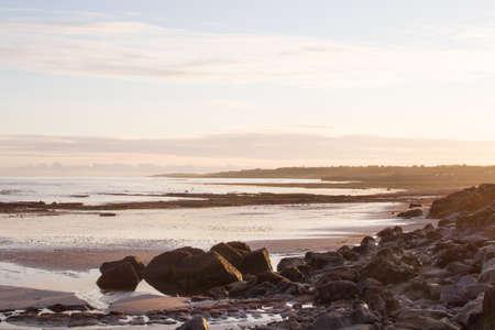 Sunrise over the Moray coast