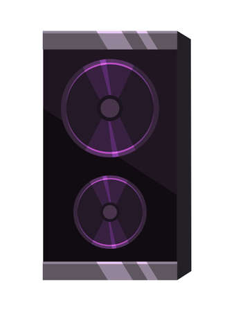 Loudspeaker musical accessory for recording studio