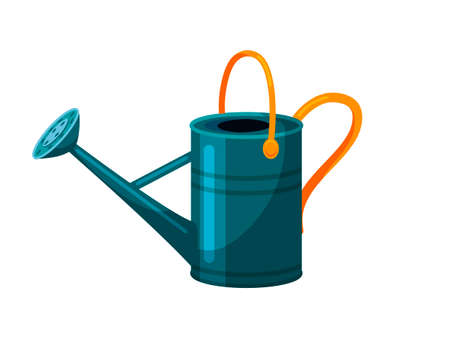 Watering can tool isolated on white background Иллюстрация
