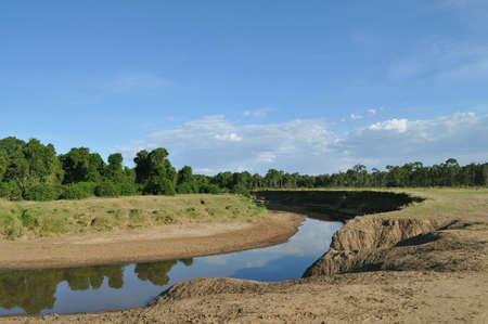 flowing river: Landscape - flowing river