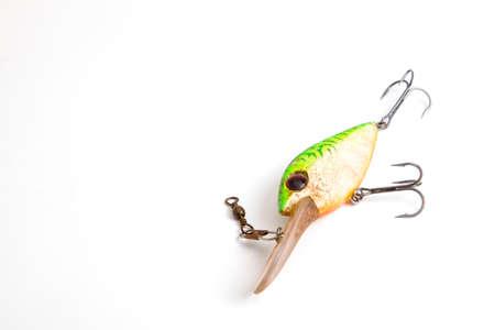weathered: Weathered fishing lure