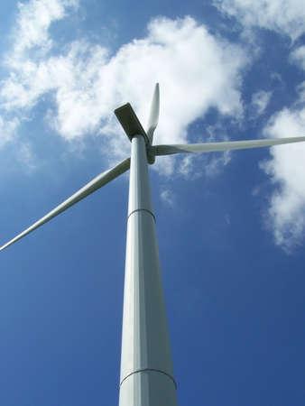 energia eolica: Planta de energ�a de viento  Foto de archivo