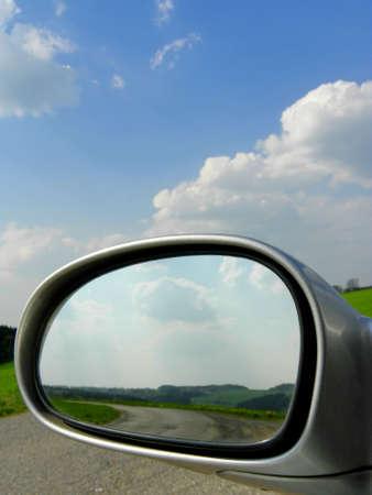 Car Mirror Stock Photo - 9412217