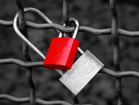Liebe Locks Lizenzfreie Bilder