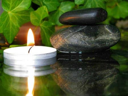 wellness environment: Stones