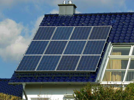 Solar Plant Standard-Bild - 13362878