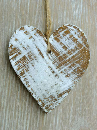 Image of a wooden heart