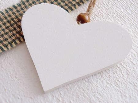 Bild von einem Herz aus Holz