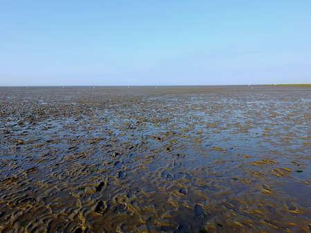 Das Wattenmeer im Norden von Deutschland Lizenzfreie Bilder - 47746222