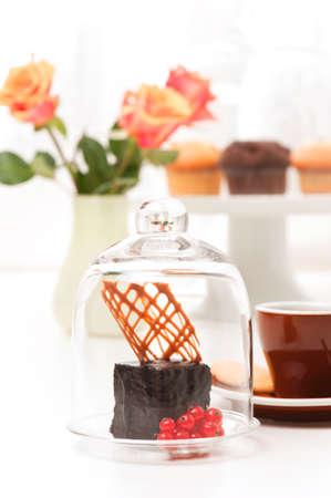 boulangerie: a fine petit Frensh dessert Stock Photo