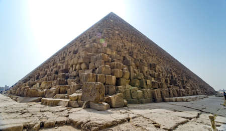 Pyramids of Gizeh in Cairo, Egypt photo