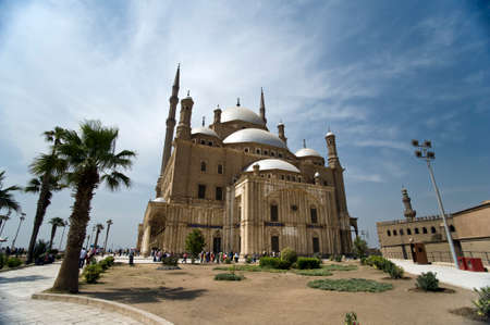 mohammed: beautiful Mosque in Cairo, Egypt