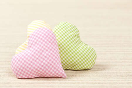 heart on bright background