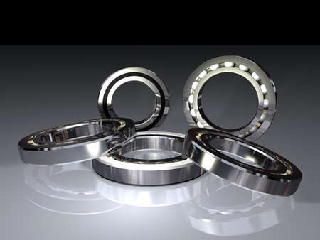 ball bearings for transmitting the rotation