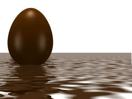 Chocolate Easter Egg with surprise
