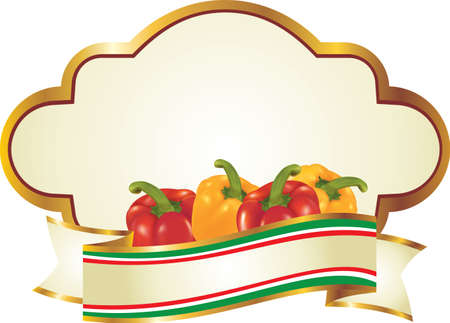 label for fruit and vegetables photo