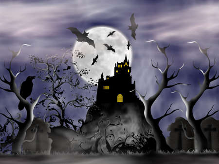 bewitched: On Halloween night