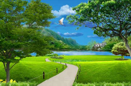 Walk outdoors