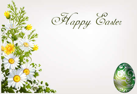 Sticky Easter Greetings Stock Photo