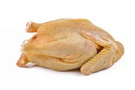 nostrano raw chicken on white high white meat Stock Photo - 13507292