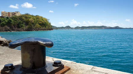 indies: Caribbean sea - Grenada Island - Saint Georges - Inner harbor and bay Devils