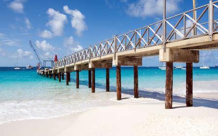Bridgetown, Barbados - Tropical island - Caribbean sea - Brownes beach - Carlisle bay Stock Photo