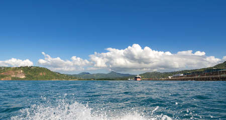 cul de sac: Grand Cul De Sac - Caribbean island - Saint Lucia