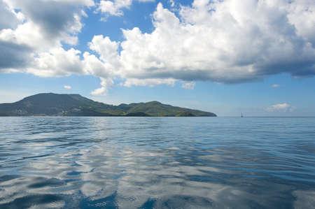 Baie de Fort de France - Ile tropicale de Martinique, Mer des Caraïbes - Point du Bout Banque d'images - 78933990