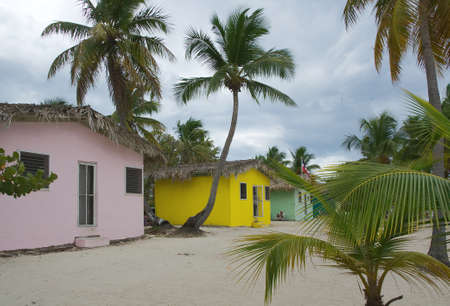 Catalina island - Playa de la Isla Catalina - Caribbean tropical beach and little house Фото со стока - 81720633