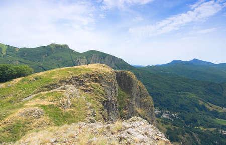 Liguria mountain range, Val d'Aveto view - Saint Stefano d'Aveto - Groppo Red - Italy