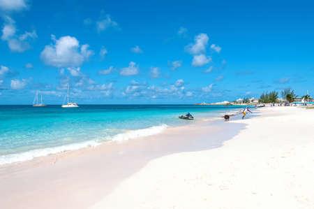 View of Bridgetown, Barbados - Tropical island - Caribbean sea - Brownes beach - Carlisle bay