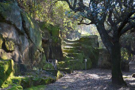 archaeological: Cumae archaeological area, Italy Stock Photo