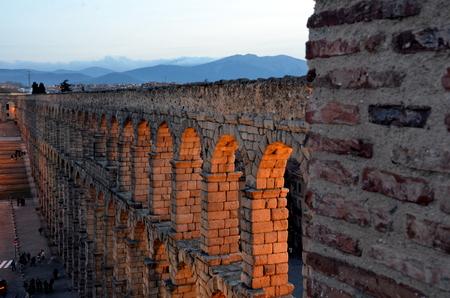 segovia: Acqueduct Segovia, Spain
