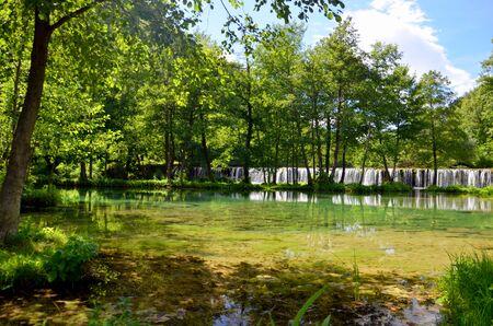 herzegovina: Plivsko lake, Bosnia and Herzegovina Stock Photo