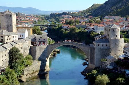 most: Bridge Mostar, Bosnia and Herzegovina
