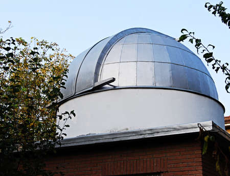 Astronomical homemade dome for telescope