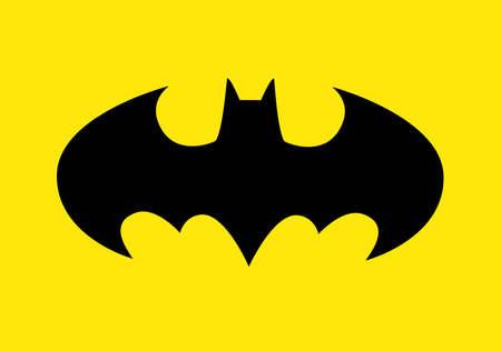 The famous Batman logo to celebrate the Batmans 80th birthday.