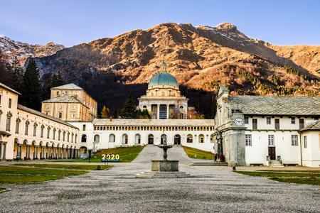 Sanctuary of Oropa, Piedmont, Italy