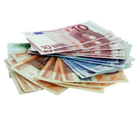 Euro banknotes money Stock Photo - 3134388