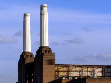 London Battersea powerstation abandoned factory photo